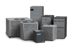 Daikin heating and cooling system